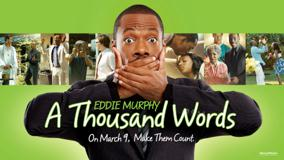 A Thousand Words &#8211; Movie Cover Poster